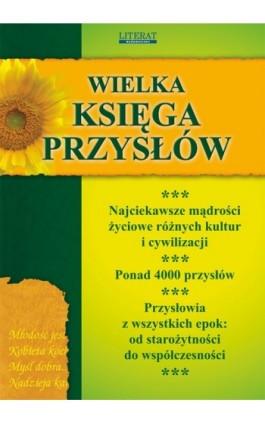Wielka księga przysłów - Praca zbiorowa - Ebook - 978-83-7898-375-0