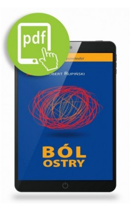 Ból ostry - Robert Rupiński - Ebook - 978-83-62510-52-8