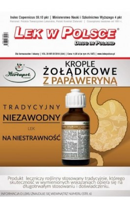 Lek w Polsce nr 3/2019 - Praca zbiorowa - Ebook