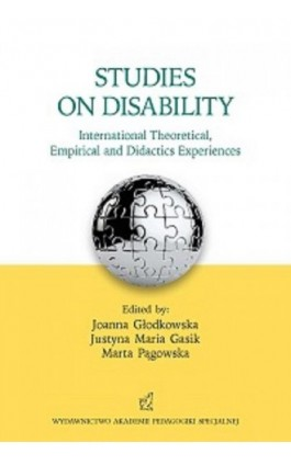 Studies on disability. International Theoretical, Empirical and Didactics Experiences - Ebook - 978-83-64953-86-6