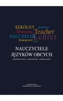 Nauczyciele języków obcych - Ebook - 978-83-7865-984-6
