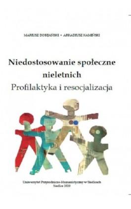 Niedostosowanie społeczne nieletnich. Profilaktyka i resocjalizacja - Mariusz Dobijański - Ebook - 978-83-66541-05-4