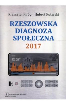 Rzeszowska diagnoza społeczna 2017 - Krzysztof Piróg - Ebook - 978-83-7383-986-1