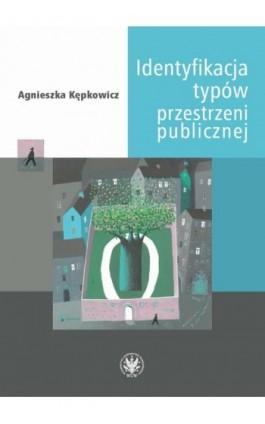 Identyfikacja typów przestrzeni publicznej - Agnieszka Kępkowicz - Ebook - 978-83-235-4124-0