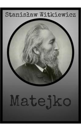 Matejko - Stanisław Witkiewicz - Ebook - 978-83-8119-388-7