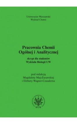 Pracownia Chemii Ogólnej i Analitycznej - Ebook - 978-83-235-3597-3