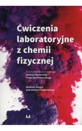 Ćwiczenia laboratoryjne z chemii fizycznej - Ebook - 978-83-8142-503-2