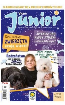 Victor Junior nr 26 (376) 27 grudnia 2018 - Ebook
