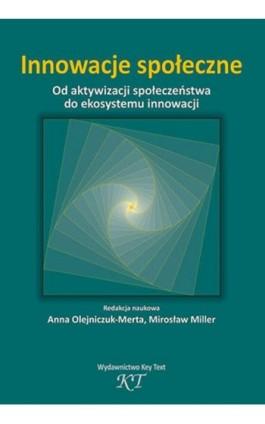 Innowacje społeczne - Praca zbiorowa - Ebook - 978-83-64928-13-0
