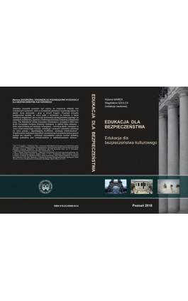 Edukacja dla bezpieczeństwa kulturowego - Helena Marek - Ebook - 978-83-65096-83-8