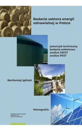 Badanie sektora energii odnawialnej w Polsce – potencjał techniczny, badania ankietowe, analiza SWOT, analiza PEST - Bartłomiej Igliński - Ebook - 978-83-231-4310-9