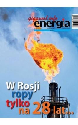Energia Gigawat nr 4/2016 - Sylwester Wolak - Ebook