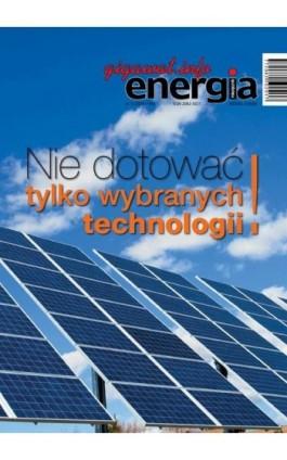 Energia Gigawat nr 11/2016 - Sylwester Wolak - Ebook