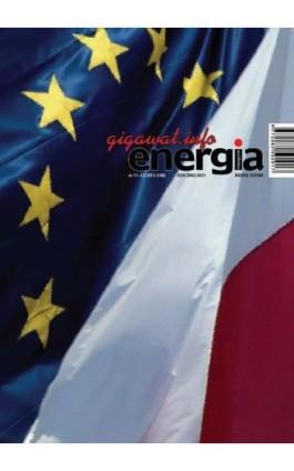 Energia Gigawat nr 11-12/2015 - Sylwester Wolak - Ebook