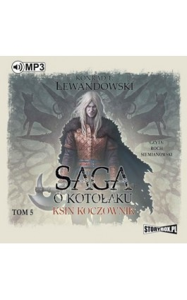 Saga o kotołaku Tom 5 Ksin koczownik - Konrad T. Lewandowski - Audiobook - 978-83-65864-97-0
