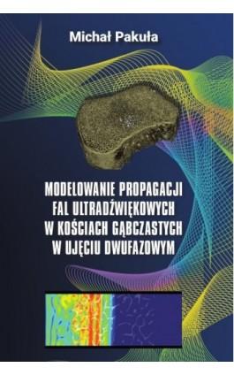 Modelowanie propagacji fal ultradźwiękowych w kościach gąbczastych w ujęciu dwufazowym - Michał Pakuła - Ebook - 978-83-8018-241-7