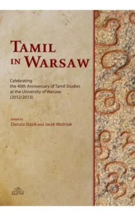 Tamil in Warsaw - Ebook - 978-83-8017-018-6
