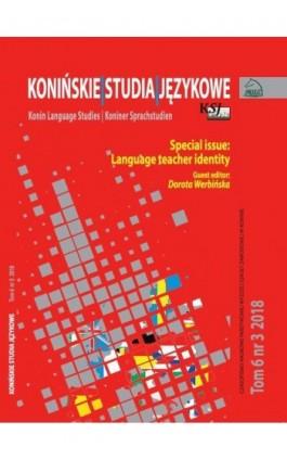 Konińskie Studia Językowe Tom 6 Nr 3 2018 - Ebook
