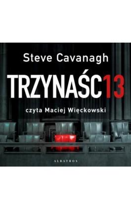 Trzynaście - Steve Cavanagh - Audiobook - 978-83-8125-873-9