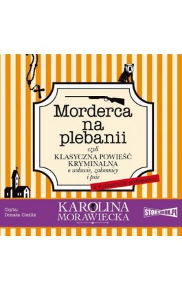 Morderca na plebanii - Karolina Morawiecka - Audiobook - 978-83-8146-896-1