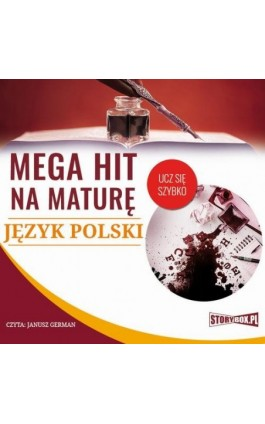 Mega hit na maturę Język polski - Małgorzata Choromańska - Audiobook - 978-83-8146-558-8