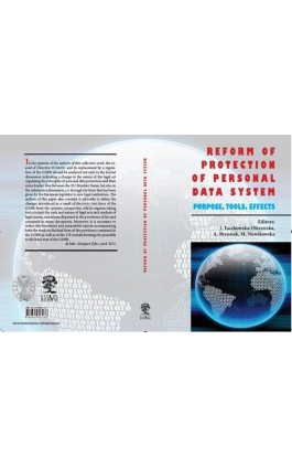 Reform Of Protection Of Personal Data System – Purpose, Tools - Ebook - 978-83-65697-29-5