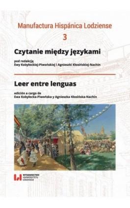 Czytanie między językami - Ebook - 978-83-8142-061-7