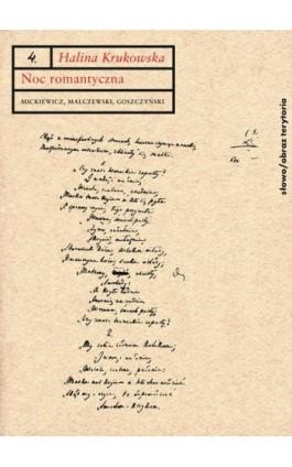 Noc romantyczna - Halina Krukowska - Ebook - 978-83-7453-375-1