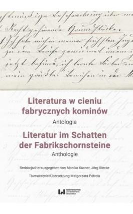 Literatura w cieniu fabrycznych kominów / Literatur im Schatten der Fabrikschornsteine - Ebook - 978-83-8088-949-1