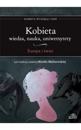 Kobieta Wiedza nauka uniwersytety Europa i świat - Ebook - 978-83-8017-152-7
