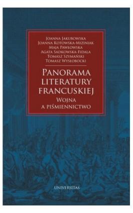 Panorama literatury francuskiej - Praca zbiorowa - Ebook - 978-83-242-6443-8