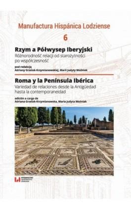 Rzym a Półwysep Iberyjski - Ebook - 978-83-8142-507-0
