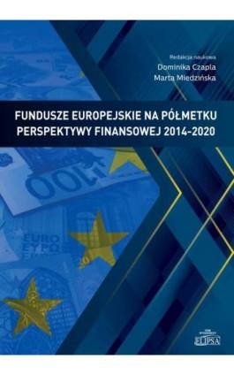 Fundusze europejskie na półmetku perspektywy finansowej 2014-2020 - Ebook - 9788380172463
