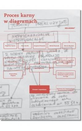 Proces karny w diagramach - Praca zbiorowa - Ebook - 978-83-65721-76-1
