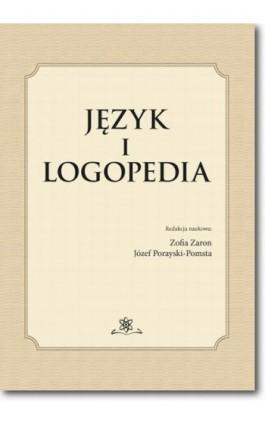Język i logopedia - Ebook - 978-83-7798-199-3