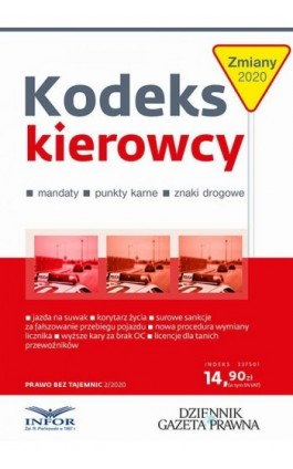 Kodeks Kierowcy - Ebook - 978-83-8137-754-6