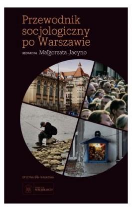 Przewodnik socjologiczny po Warszawie - Ebook - 978-83-66056-43-5