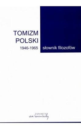 Tomizm polski 1946-1965 - Ebook - 978-83-66480-04-9