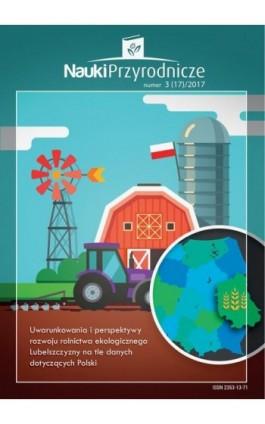 Nauki Przyrodnicze Nr 3 (17)/2017 - Kamil Wydra - Ebook