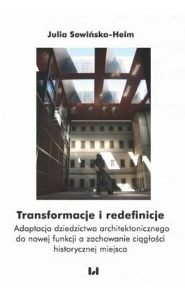 Transformacje i redefinicje - Julia Sowińska-Heim - Ebook - 978-83-8142-440-0