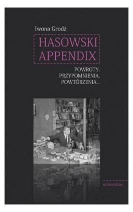 Hasowski Appendix - Iwona Grodź - Ebook - 978-83-242-6433-9