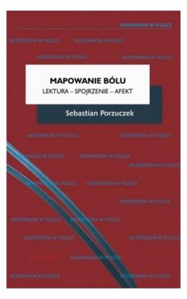 Mapowanie bólu Lektura - Spojrzenie - Afekt - Sebastian Porzuczek - Ebook - 978-83-242-6436-0