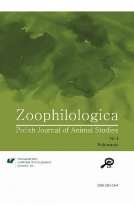 Zoophilologica. Polish Journal of Animal Studies 2018, nr 4: Polowanie - Ebook