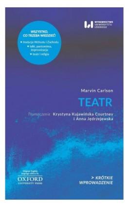 Teatr - Marvin Carlson - Ebook - 978-83-8142-399-1