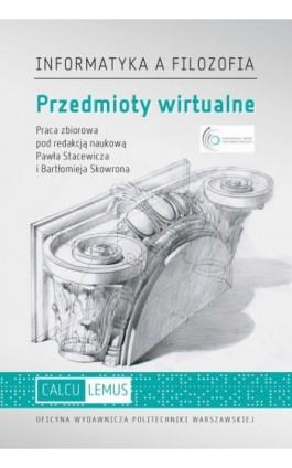 Przedmioty wirtualne - Ebook - 978-83-8156-058-0