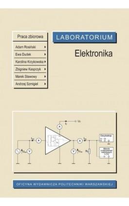 Elektronika. Laboratorium - Ebook - 978-83-8156-057-3