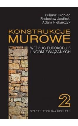 Konstrukcje murowe według Eurokodu 6 i norm związanych. Tom 2 - Łukasz Drobiec - Ebook - 978-83-01-17861-1