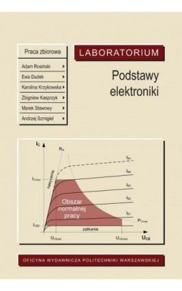 Podstawy elektroniki. Laboratorium - Ebook - 978-83-8156-056-6