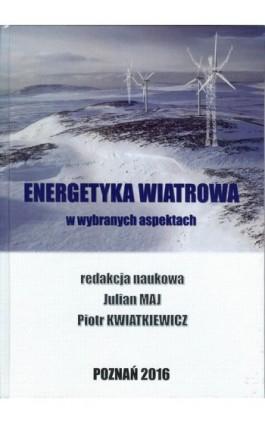 Energetyka wiatrowa - Ebook - 978-83-64541-06-3