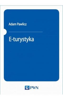 E-turystyka - Adam Pawlicz - Ebook - 978-83-01-20655-0